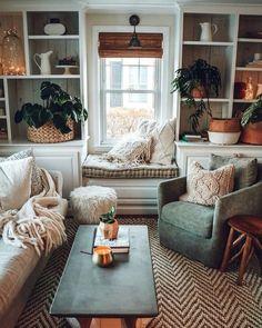 Bohemian Style Home Decors with Latest Designs Home Design: Interior Design Ideas for Contemporary H Decor, Cheap Home Decor, Sweet Home, Home And Living, Apartment Living, Cozy House, Home Living Room, Interior, House Interior