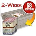 Patriot Pantry good source for heirloom seeds, packaged Survival Food