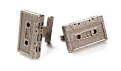 cassette tape cuff links - beauty