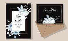 Beautiful Wedding Invitations, Floral Wedding Invitations, Wedding Invitation Templates, Save The Date, Elegant, Classy, Wedding Invitation Design, Wedding Invitation, Chic
