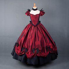 vestido rojo vic