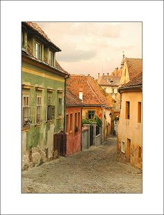 in Sighisoara (Romania) Places To Travel, Places To See, Romania Travel, Beautiful Places To Visit, Beautiful Buildings, Best Cities, Eastern Europe, Dream Vacations, The Good Place