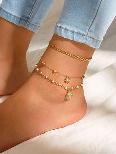Ankle Jewelry, Hand Jewelry, Dainty Jewelry, Simple Jewelry, Ankle Bracelets, Cute Jewelry, Body Jewelry, Women Jewelry, Bridal Jewelry