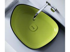 METAMORFOSI Washbasin by Olympia Ceramica design Gianluca Paludi