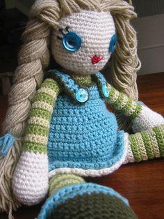 Amigurumi Little Doll
