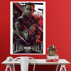 Póster adhesivo Blade Runner 2049 Comic - VINILOS DECORATIVOS Groucho Marx, Blues Brothers, Harrison Ford, Indiana Jones, Pulp Fiction, Blade Runner, Movies, Movie Posters, Fictional Characters