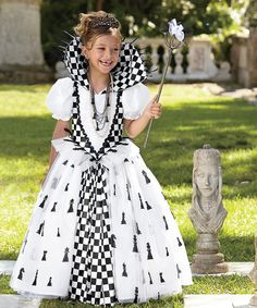 chasing fireflies Chess Queen Dress Costume