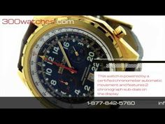 #Breitling Chrono-matic H22360 18K Gold Automatic #Watch
