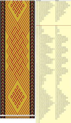 diseño KurtFML modificado 70 tarjetas, 3 colores, completa dibujo en 112 movimientos // sed_639 diseñado en GTT༺❁