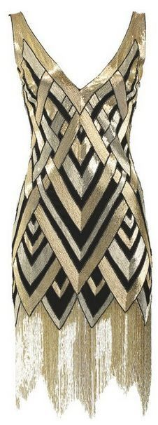 OMG can I please have and somewhere to where it!!!! Bergdorf Goodman's Anniversary Art Deco Dress Collection