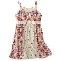 D-Signed Girls Sleeveless Floral Dress - Multicolor. target