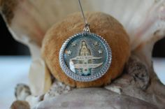 Hail Mary  full of grace devotional medal by diddywadiddy on Etsy, $16.00