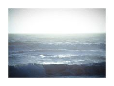 Fields of Blue (Pacific Ocean) by Lindsay Ferraris Photography for Minted