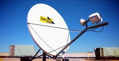 Business continuity - satellite disaster preparedness antenna - satellite back up recovery system