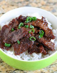 Mongolian Beef | Kirbie's Cravings | A San Diego food blog