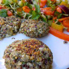 Steak vegan et sa salade de saison