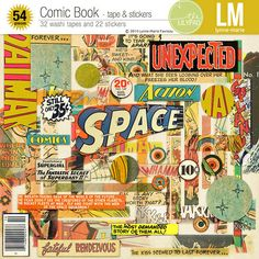 Comic Book - tapes & stickers | Lynne-Marie