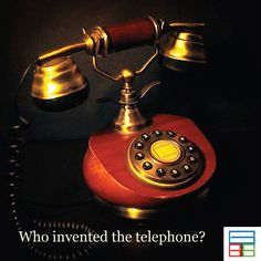Alexander Graham Bell invented the telephone. #Quiz #Kids #Knowledge #Brain #GK