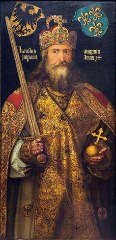 Charlemagne: Although many consider him to be the Founder of the Holy Roman Empire, it was Otto the 1ST in 962.