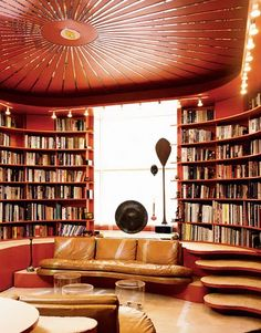 A gorgeous home library #literaryspaces
