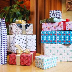 The Natural European Wrapping Paper Book 20 patterns by giftaholic, $14.95