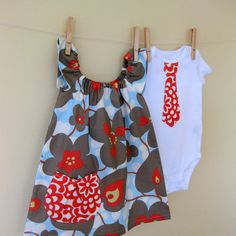 Cute for b/g twins and would be simple to make