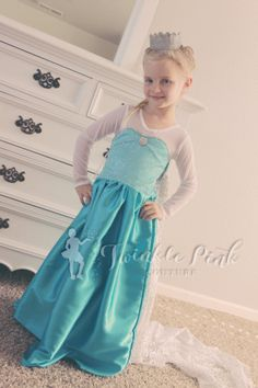 Queen Elsa Dress  Ice Queen Fancy Dress  by TwinklePinkCouture, $70.00 Frozen Queen, Queen Elsa, Ice Queen, Ice Dresses, Flower Girl Dresses, Wedding Dresses, Elsa Dress, Dress Up, Mermaid Fancy Dress