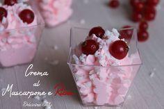 Crema al Mascarpone e Ribes with our Mini Dessert Cubino #Poloplast