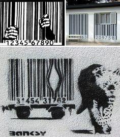 Cool Banksy art...