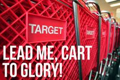 You don't know what adventure awaits in those red-hued aisles, but you can't wait to find out. | 15 Signs Your Love Of Target Is Spiraling Out Of Control