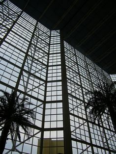 Hyatt Regency Orange County Lobby Photo by sillykarlyle As Seen