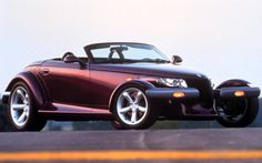 Plymouth Prowler. This was my first favorite car. Wish I could drive one of these things at least once...