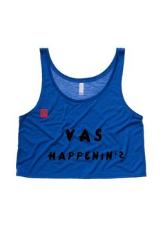 Vas Happenin One Direction Cropped Tank Top. $20.00, via Etsy.
