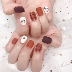 Classy Nails, Stylish Nails, Shellac Nails, Nail Manicure, Fox Nails, Palm Nails, Korean Nail Art, Nail Art For Beginners, Classy Nail Designs