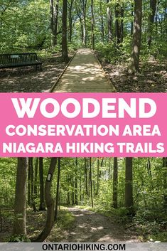 Woodend Conservation Area is a fantastic place to hike in Niagara Falls, Ontario. It's part of the Bruce Trail in the Niagara Region. Here's how to go hiking at Woodend, Niagara. Ontario Hiking | Hiking in Ontario | Hiking in Niagara Falls | St Catharines Hiking Trails | Niagara Hiking Trails | Niagara Region Hiking | Things to do in Niagara | Outdoor activities in Niagara Falls | What to do in Niagara | Niagara Falls Hiking | Ontario Hiking Trails | Bruce Trail