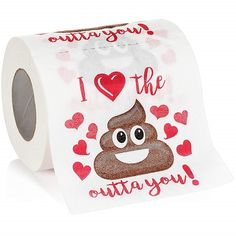 I love the sh*t outta you Toilet Paper (Funny gifts for boyfriend) Funny Valentine, Valentine Day Gifts, Unique Funny Gifts, Funny Gifts For Him, Awesome Gifts, Creative Gifts, Birthday Present For Husband, Birthday Gift For Him, Men Birthday