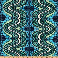 Amy Butler Lark Dreamer Gypsy Cobalt Blue