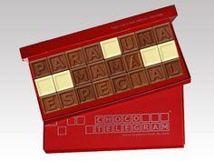 ¡Día 03 de Mayo es el Día de la Madre! ¡Descubra nuestras Dulces Mensajes de Chocolate! http://www.mysweets4u.com/es/?o=2,5,29,33,0,0