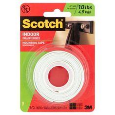 mounting tape 183123 3m scotch mounting foam tape holds 2 pounds 5