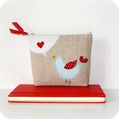 bird pouch...by pilli pilli