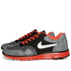 Nike Lunar Safari Fuse+ (Black, White & Bright Crimson) ($50-100) - Svpply
