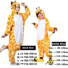 f441226bef Unicorn Stitch Giraffe Unisex Flannel Pajamas Adults Cosplay Cartoon Animal  Onesies Sleepwear Hoodie For Women Men