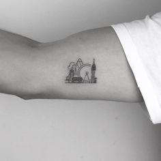 London Tattoo Artist: Cagri Durmaz Tattooist Basic Ink