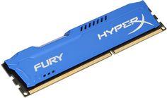 Kingston Technology FURY Blue 4GB 1333MHz DDR3 HyperX, 4 GB, DDR3, 1333 MHz, Azul, 1333 MHz, Non-ECC34,90€