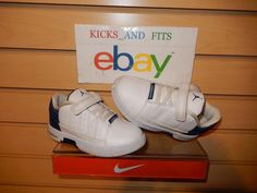 Infant Toddler Jordan Team Elite Low Shoes 10c nike white blue elastic velcro #Jordan #Athletic