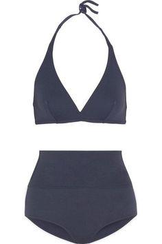 Eres - Les Essentiels Gang Triangle Bikini Top - Midnight blue - FR
