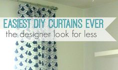 How to make super cheap diy curtain rods with finials. Step by step tutorial to make your own stylish curtain rods any length you need. Cheap Curtain Rods, Cheap Curtains, Drop Cloth Curtains, Kids Curtains, Curtains Living, Colorful Curtains, Hanging Curtains, Window Curtains, Patterned Curtains