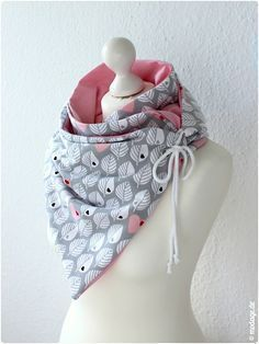 Scarf with Oese_Diy Leni Pepunkt_modage 05 (Cool Cr . Scarf with Oese_Diy Leni Pepunkt_modage 05 (Cool Crafts Sewing) Diy Clothing, Sewing Clothes, Clothing Patterns, Baby Knitting Patterns, Sewing Patterns, Sewing Hacks, Sewing Crafts, Fabric Crafts, Cowls