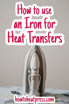 What is the best iron for applying heat transfer vinyl? How do you apply vinyl with an iron? Cricut Iron On Vinyl, Cricut Htv, Iron On Glitter Vinyl, Cricut Explore Projects, Vinyl Projects, Sewing Projects, Cricut Heat Transfer Vinyl, How To Use Cricut, Cricut Tutorials
