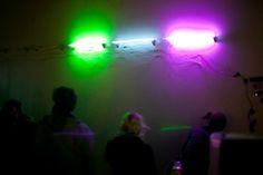 A Breath of Fresh Neon, 2012 Artist: Avery Max Description: Six neon tubes, alcohol gas sensor, Arduino, dim-able neon power transformers